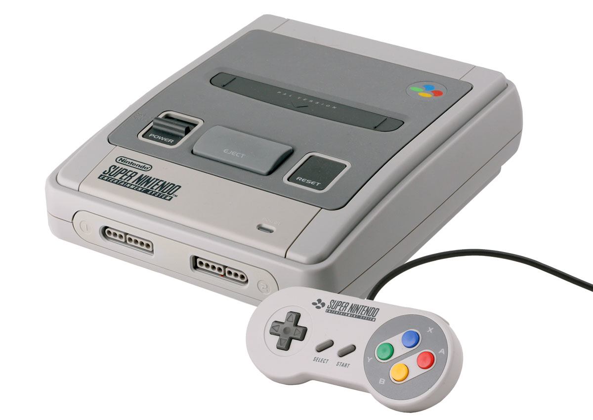 Super nintendo entertainment system emuroms snes